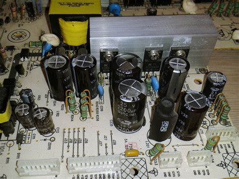 tv capacitor failure symptoms philips plhl t723 2300keg031a f power supply board repair service by coppell tv repair llc