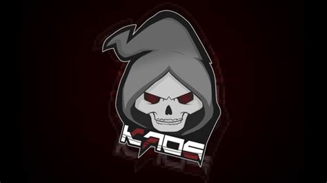 Kaos White Logo 1 cs go kaos team logo speedart
