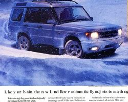 electronic stability control 1993 land rover range rover classic spare parts catalogs the 1999 2004 land rover discovery ii a look back at these modern classic suvs classic cars