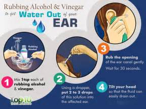 how to your ears at home how to remove water from your ears after swimming