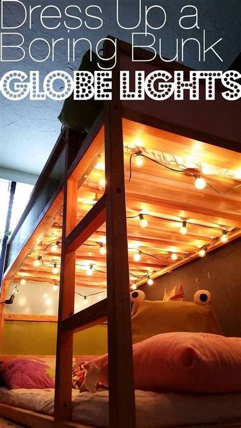dress   boring bunk bed globe lights bunk bed lights