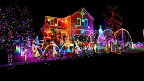 holiday lights map denver metro and colorado christmas