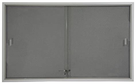 36 Inch Sliding Closet Doors Displays2go 5 X 3 Inches Indoor Bulletin Board With Sliding Glass Doors 60 X 36 Inches Enclosed