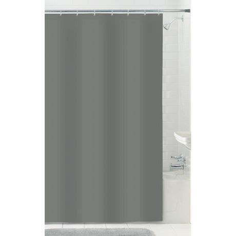 microfiber shower curtain liner mainstays microfiber fabric shower curtain liner walmart