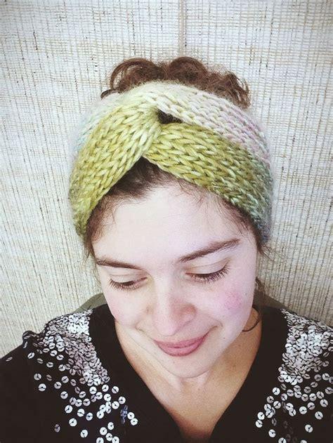 turban crochet tutorial brioche turban a free pattern knitting pinterest