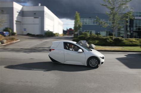 Electric Vehicles For Sale Canada 3 Wheeled Electric Vehicle Set To Go On Sale This Year