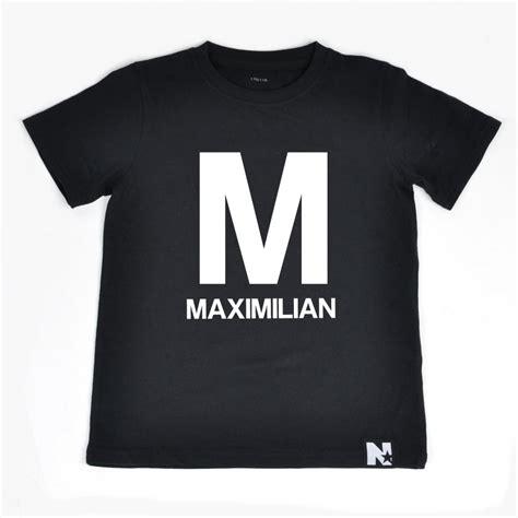 Tshirt Oks t shirt bokstav och namn svart 214 verdelar
