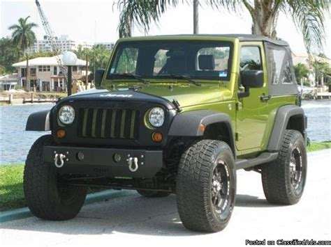 Jeep 4x4 Wrangler For Sale 2007 Jeep Wrangler Custom 4x4 Price 7800 For Sale In
