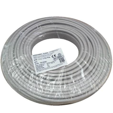Kabel Extrana Nym 3 X 2 5 50 Meter kabel za vla緇ne prostore nym j 3 x 1 5 50 m