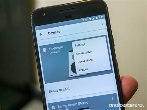 how to chromecast from android how to set up and use chromecast audio groups android central