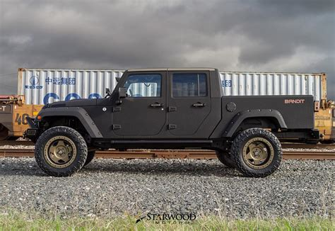 jeep truck starwood motors the bandit 4 door jeep truck