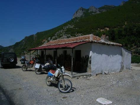 Motorrad Fahren Hitze by Albanien 2012