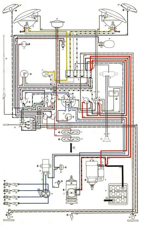 1963 volkswagen beetle engine wiring diagrams wiring