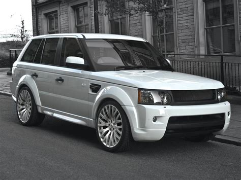 White Range Rover Amazing Wallpapers