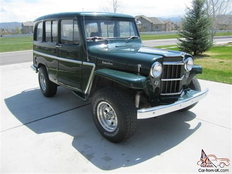 jeep station wagon 1962 willys station wagon