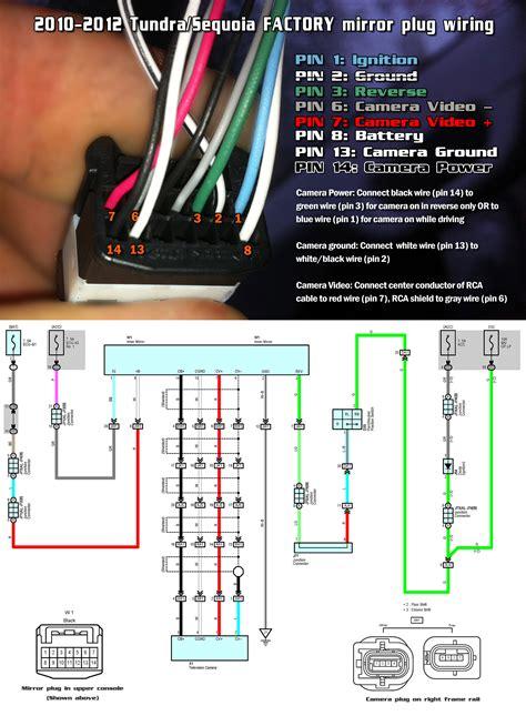 toyota tundra mirror wiring diagram wiring diagram schemes