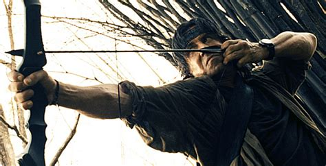 film rambo bow rambo 2008 review basementrejects
