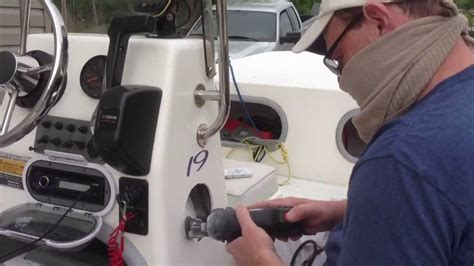 bass boat stereo ideas how to install speakers in a boat youtube