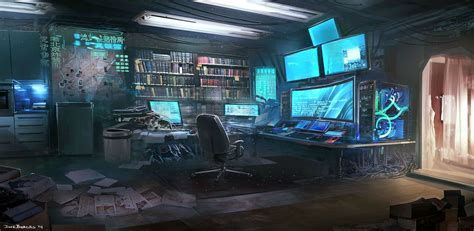 hacker bedroom fallen heroes the hacker s room jose borges cyberpunk