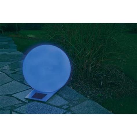 Solar Decorative Light Sphere Led Rgb Esotec Trendy 40 Cm Solar Sphere Lights