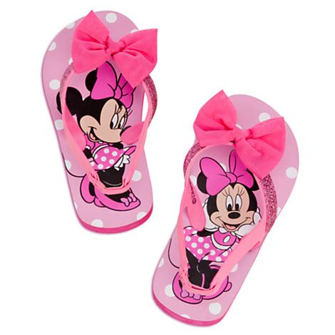 Minnie Mouse Flip by Disney Characters Flip Flops For On Lovekidszone