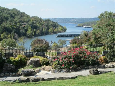 how big is table rock table rock lake from one of the pool areas picture of