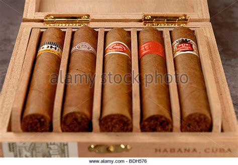 Handmade Cuban Cigars - cohiba cigars cuba stock photos cohiba cigars
