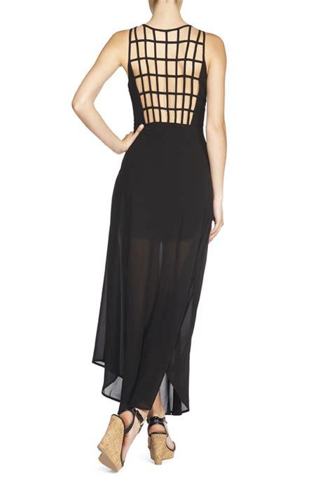 Maxi Larisa jf larissa maxi in black get great deals at justfab
