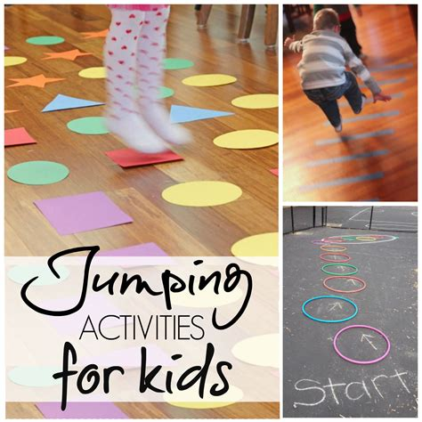 7 Activities For Children 10 jumping activities for gross motor activities