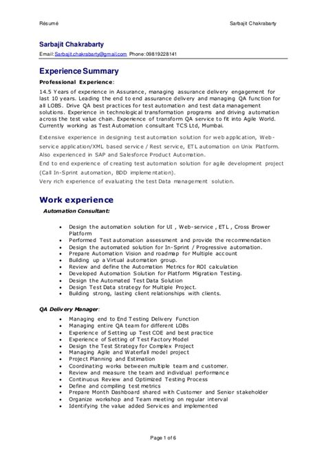 quality assurance resume sample hloom com