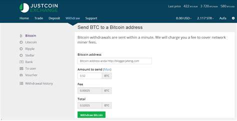 bitcoin yaitu cara withdraw btc justcoin ke wallet blockchain cara seo