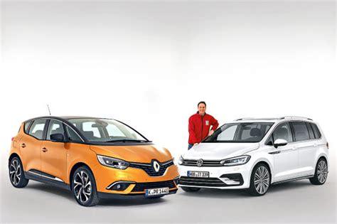 Kfz Versicherung Vergleich Nutzfahrzeuge by Vans Im Vergleich Renault Sc 233 Nic Trifft Vw Touran
