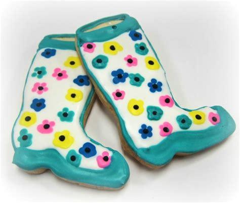 rain boot cookies scrumptions - Boat Browser Cookies
