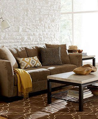 Elliot Fabric Sectional Living Room Furniture Collection by Fabric Sofa Living Room Furniture And Rooms Furniture On