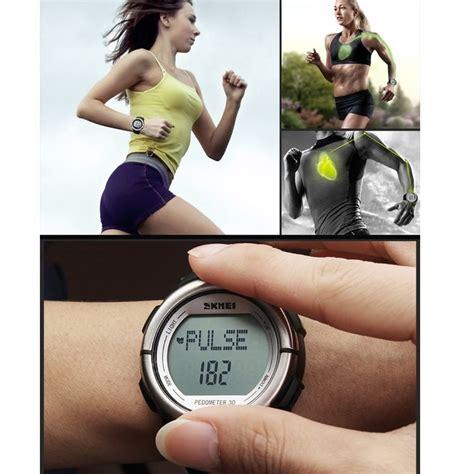 Jam Tangan Pengukur Jantung jam sporty alat pengukur detak jantung yang multifungsi dan waterproof tokoonline88