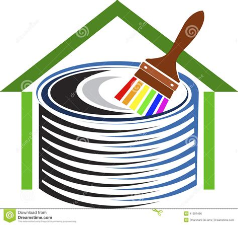 home decor logo home decor logo stock vector image 41607496