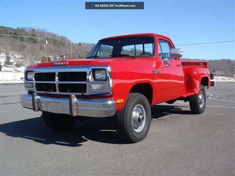 1991 dodge cummins diesel 4x4 1 owner