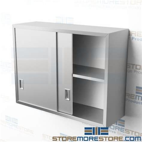 commercial kitchen stainless steel wall cabinets wall hung stainless steel commercial quality cabinets