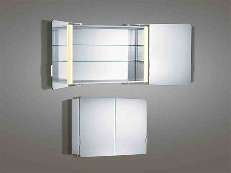 Modern Bathroom Mirror Cabinets by Bathroom Mirror Cabinet With Lights Home Furniture Design