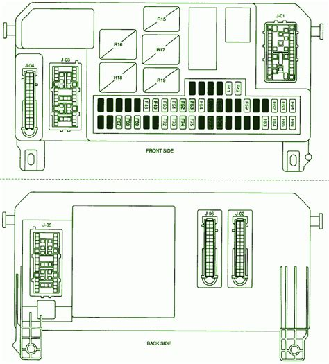 2008 mazda2 cigar lighter fuse box diagram circuit