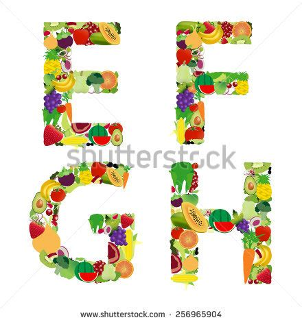 fruit 12 letters f is for fruits stock photos images pictures