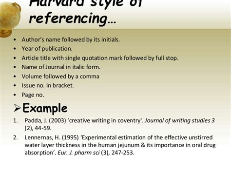 reference books vs different style of referencing
