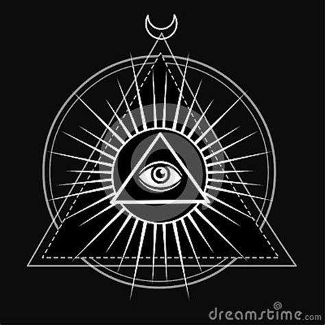 occhio illuminati eye of providence all seeing eye inside triangle pyramid