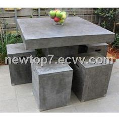 cement outdoor furniture 1000 images about cement on concrete coffee