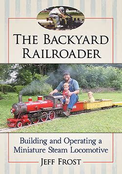 backyard baseball steam the backyard railroader mcfarland