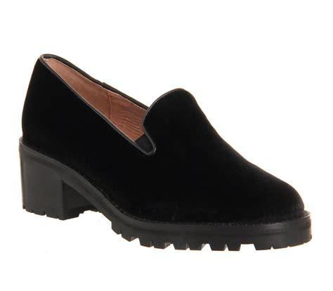 womens velvet loafers womens jeffrey cbell dunham heel loafer black velvet