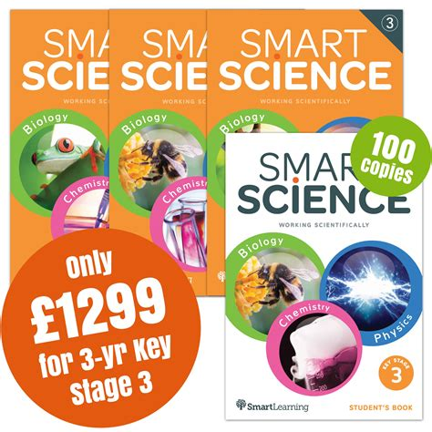 Smart Series Science For 4 5 Year smart science 3 year key stage 3 special offer pack