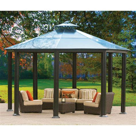 Metal Patio Gazebo Improving Your Patio With An Aluminum Gazebo Ideas 4 Homes