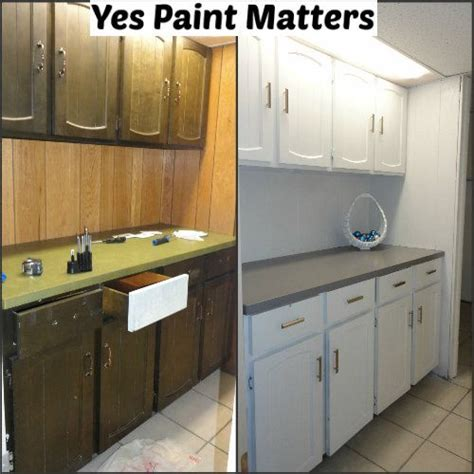 special paint for kitchen cabinets just new paint big difference we used a special