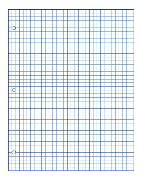 printable lined paper double sided punched grid paper classroom direct